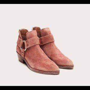 Frye Ray Harness Back Zip Bootie